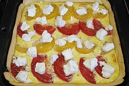 Tomaten - Tarte mit Ziegenkäse 32