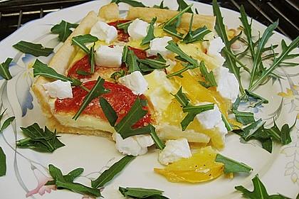 Tomaten - Tarte mit Ziegenkäse 13