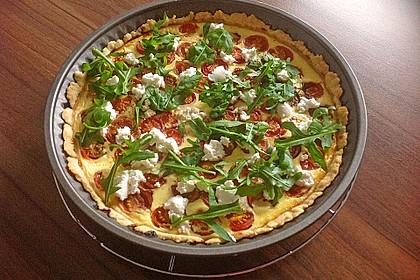 Tomaten - Tarte mit Ziegenkäse 2