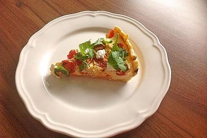 Tomaten - Tarte mit Ziegenkäse 7