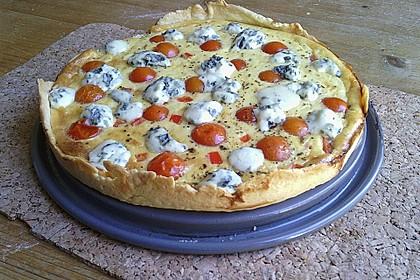 Tomaten - Tarte mit Ziegenkäse 19