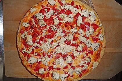 Tomaten - Tarte mit Ziegenkäse 18