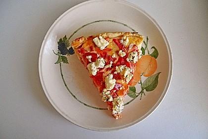 Tomaten - Tarte mit Ziegenkäse 20