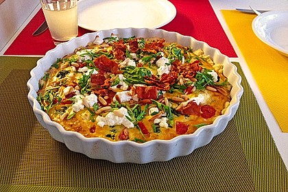 Tomaten - Tarte mit Ziegenkäse 1