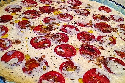 Tomaten - Tarte mit Ziegenkäse 28