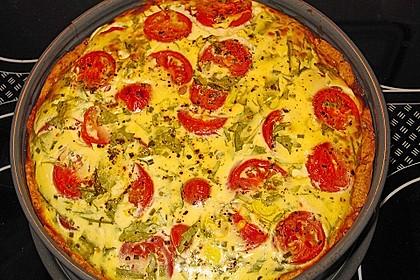 Tomaten - Tarte mit Ziegenkäse 17