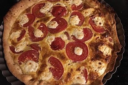 Tomaten - Tarte mit Ziegenkäse 34