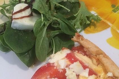 Tomaten - Tarte mit Ziegenkäse 27