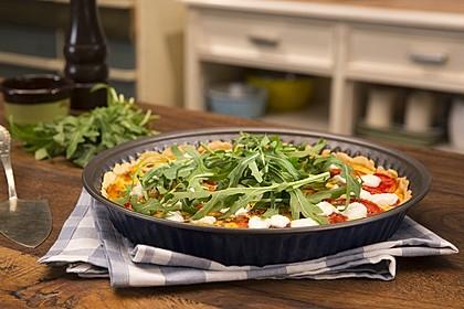 Tomaten - Tarte mit Ziegenkäse 3