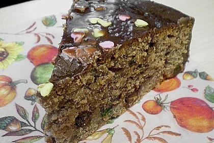 Schokoladen - Marzipan - Kuchen 6