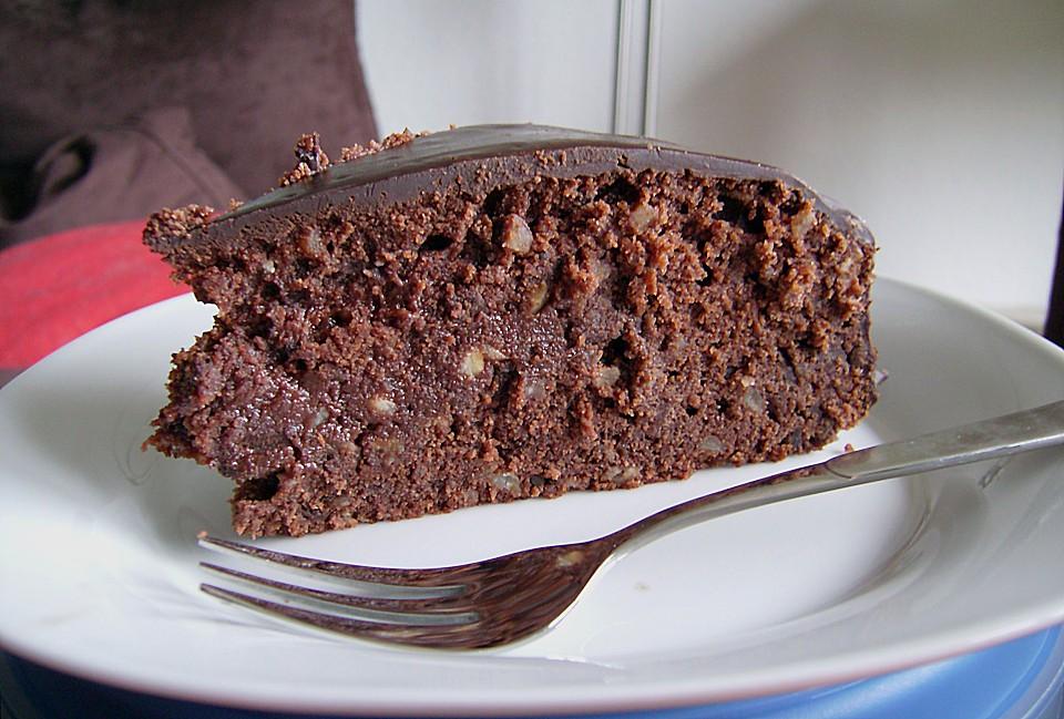 schokoladen marzipan kuchen von pinktroublebee. Black Bedroom Furniture Sets. Home Design Ideas