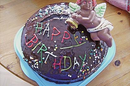 Schokoladen - Marzipan - Kuchen 2