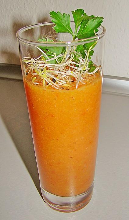 wachmacher smoothie aus kaki orange und tomate rezept. Black Bedroom Furniture Sets. Home Design Ideas