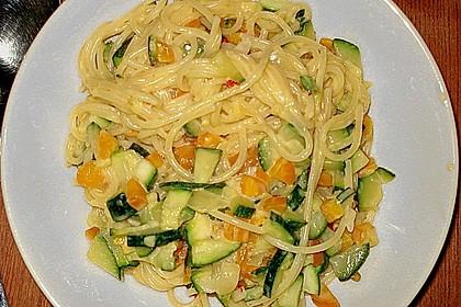 Gesunde Gemüsespaghetti à la Kati 0