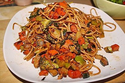 Gesunde Gemüsespaghetti à la Kati 2