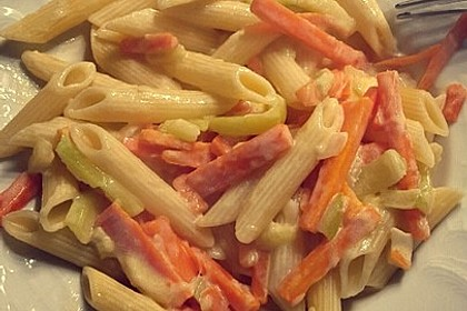 Gesunde Gemüsespaghetti à la Kati 4