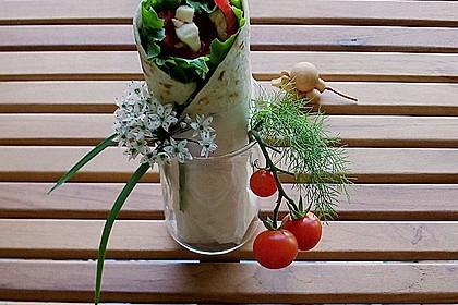 Tomaten - Mozzarella - Wraps 0