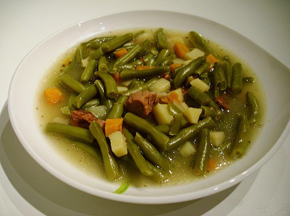 Rezepte eintopf grune bohnen