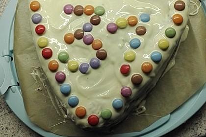 Rührkuchen mit Blaubeeren und weißer Schokolade 11