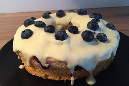 Rührkuchen mit Blaubeeren und weißer Schokolade 3