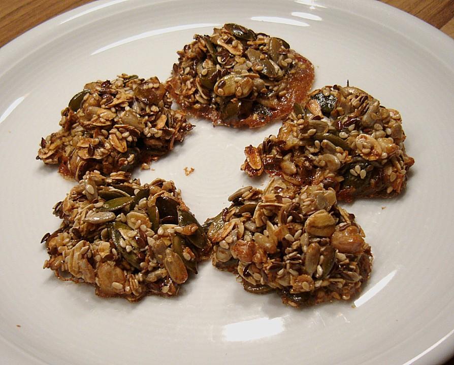 Rezept kekse sonnenblumenkerne