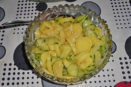 Kartoffel - Gurkensalat nach Oma Luise 1