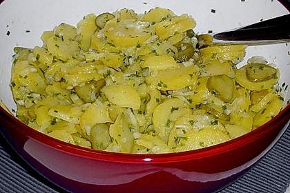Kartoffel - Gurkensalat nach Oma Luise 17