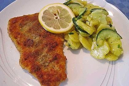 Kartoffel - Gurkensalat nach Oma Luise 6