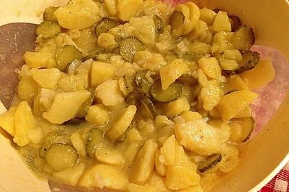Kartoffel - Gurkensalat nach Oma Luise 46