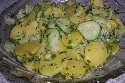 Kartoffel - Gurkensalat nach Oma Luise 36