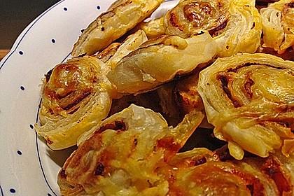 Blätterteig Pizza - Schnecken 7