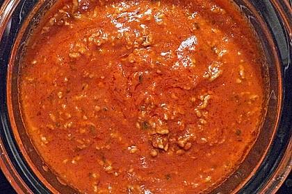 Tomatensoße mit Hackfleisch 2