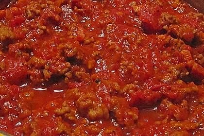 Tomatensoße mit Hackfleisch 3