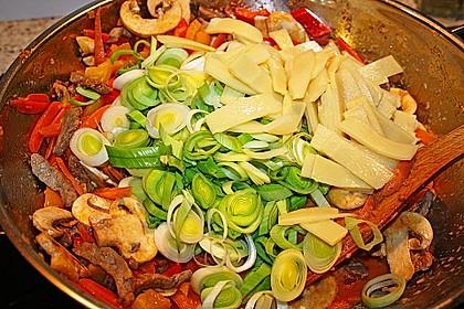 Rotes Curry aus dem Wok 2
