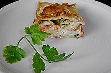 Lachs - Zucchini - Lasagne