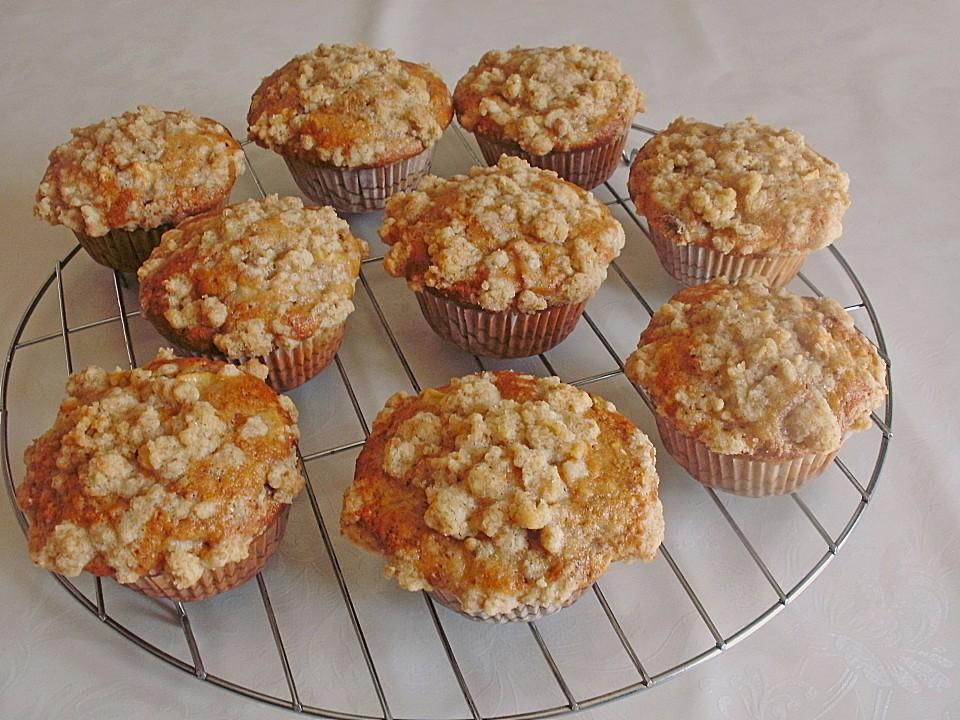 apfel k rbis muffins mit streusel rezepte suchen. Black Bedroom Furniture Sets. Home Design Ideas