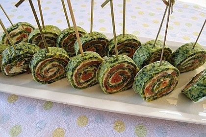 Lachs - Spinat - Roulade 17