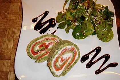 Lachs - Spinat - Roulade 11