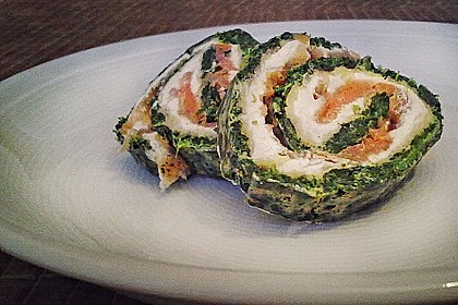 Lachs - Spinat - Roulade 10
