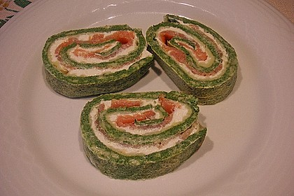Lachs - Spinat - Roulade 2