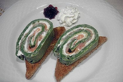 Lachs - Spinat - Roulade 6