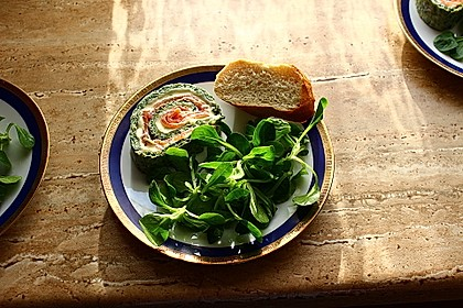 Lachs - Spinat - Roulade 7