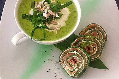Lachs - Spinat - Roulade 0