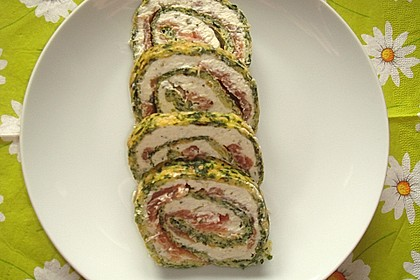 Lachs - Spinat - Roulade 14