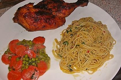 Spaghetti all' aglio, olio e peperoncino à la Alex 1