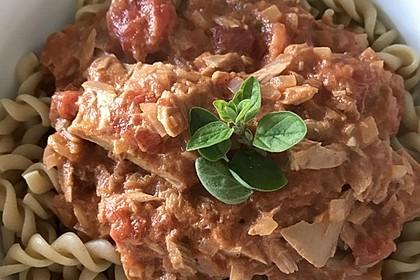 Tomaten - Thunfisch - Soße für Pasta 3