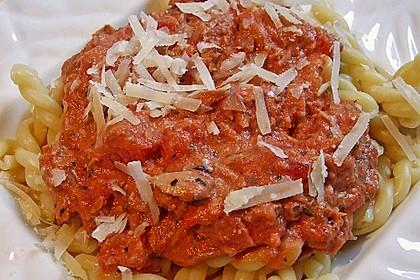 Tomaten - Thunfisch - Soße für Pasta 2