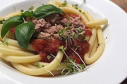 Tomaten - Thunfisch - Soße für Pasta