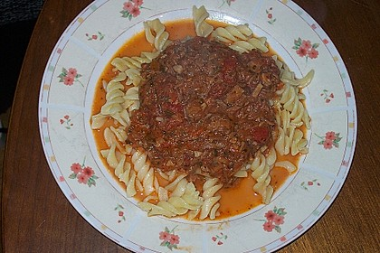 Tomaten - Thunfisch - Soße für Pasta 8