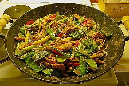 Asiatisches Nudel-Curry mit Hühnerbrustfilet 2